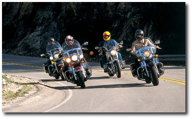 Group Of Motorcycles 36